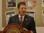 UMD athletic director Josh Berlo