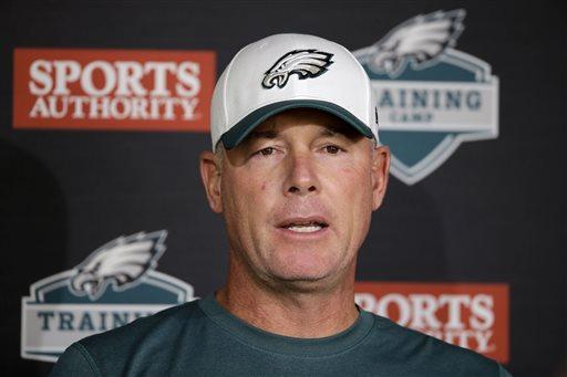 Vikings hire ex-Eagles OC Pat Shurmur to coach tight ends