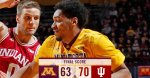 Gophers lose to indiana