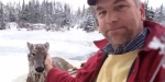 man rescues deer video screengrab 01-01-2016