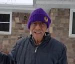Richard Mann 101 yr old snow shoveler