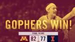 Gopher women's basketball (Gophers WBB Twitter)