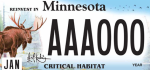 special license plate mn
