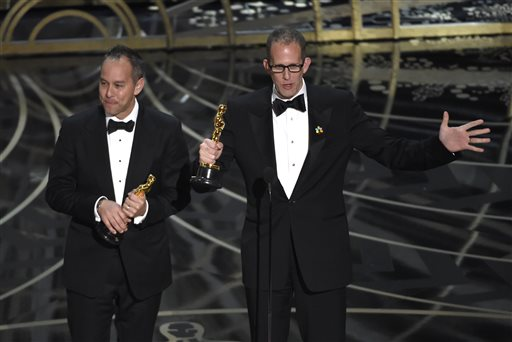 Oscars 2016: Inside Out wins the Academy Award for Animated Feature