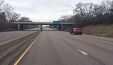 I-35 closed