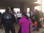 Native Lives Matter protest