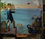 Coast Guard painting