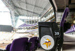 Seats in U.S. Bank Stadium