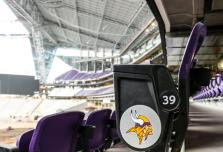 Seats in U.S. Bank Stadium