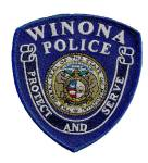Winona police patch
