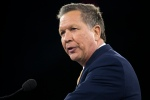 Republican presidential candidate Ohio Gov. John Kasich speaks at the 2016 American Israel Public Affairs Committee (AIPAC) Policy Conference at the Verizon Center, on Monday, March 21, 2016, in Washington. (AP Photo/Evan Vucci)