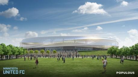 MN United stadium