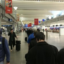 Security line at MSP