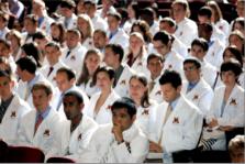 U of M medical school whitecoat ceremony