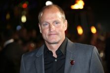 Woody Harrelson poses for photographers upon arrival at the premiere of the film 'The Hunger Games Mockingjay Part 2', in London, Thursday, Nov. 5, 2015. (Photo by Joel Ryan/Invision/AP)