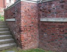 Glensheen garden wall