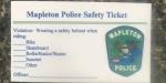 mapleton-police-safety-ticket