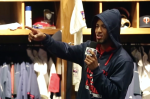 Minnesota Twins outfielder Eddie Rosario singing 'Little Red Corvette'