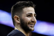 Minnesota Timberwolves guard Ricky Rubio reacts during the first half of an NBA basketball game Tuesday, Jan. 19, 2016, in New Orleans. (AP Photo/Jonathan Bachman)