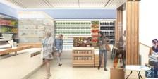 rendering of planned chobani cafe in new york target