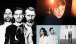 Clockwise from left: Miike Snow, Robert DeLong, DENNY, JR JR