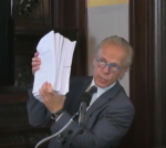Jeff Anderson with documents