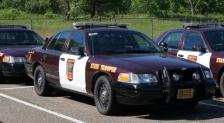 minnesota state patrol squad car crop