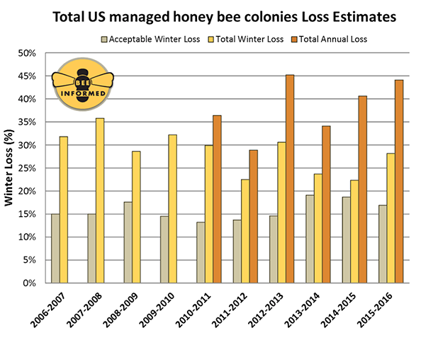 bee population graph