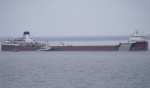 Ship grounded Lake Superior
