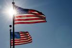 flag-sun-summer