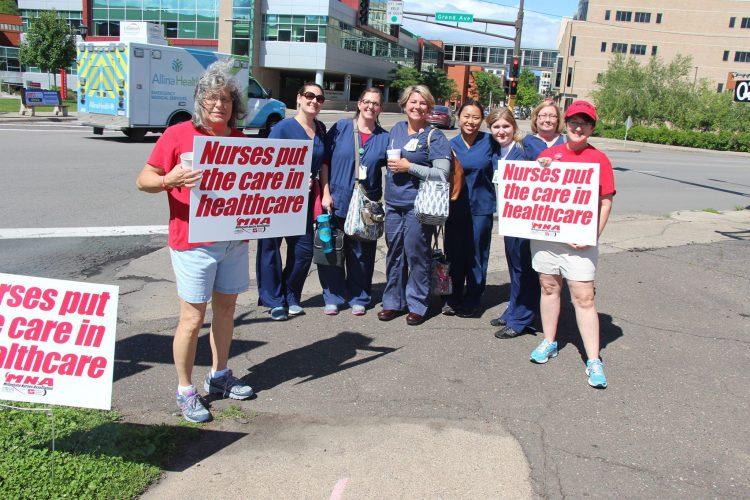 Allina Health nurses plan weeklong strike starting June 19