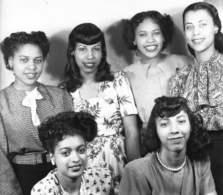 Glanton six young women