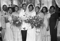 Glanton wedding party