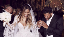 Russell Wilson - Ciara wedding photo