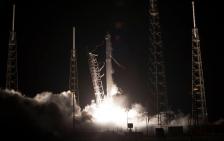 NASA space x takeoff