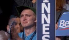 Sad Robin Hood DNC convention
