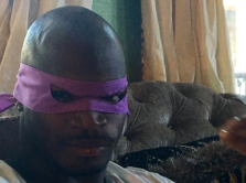 Adrian Peterson as Donatello