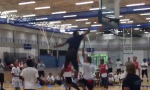 Towns dunking on kids