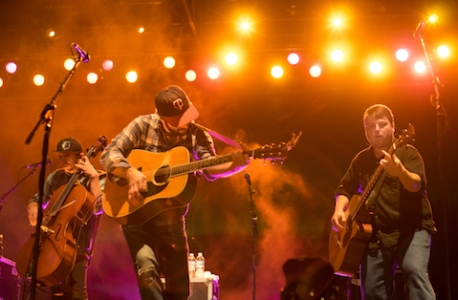 Trampled by Turtles at Festival Palomino 2015