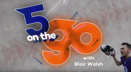 5 on the Go with Blair Walsh
