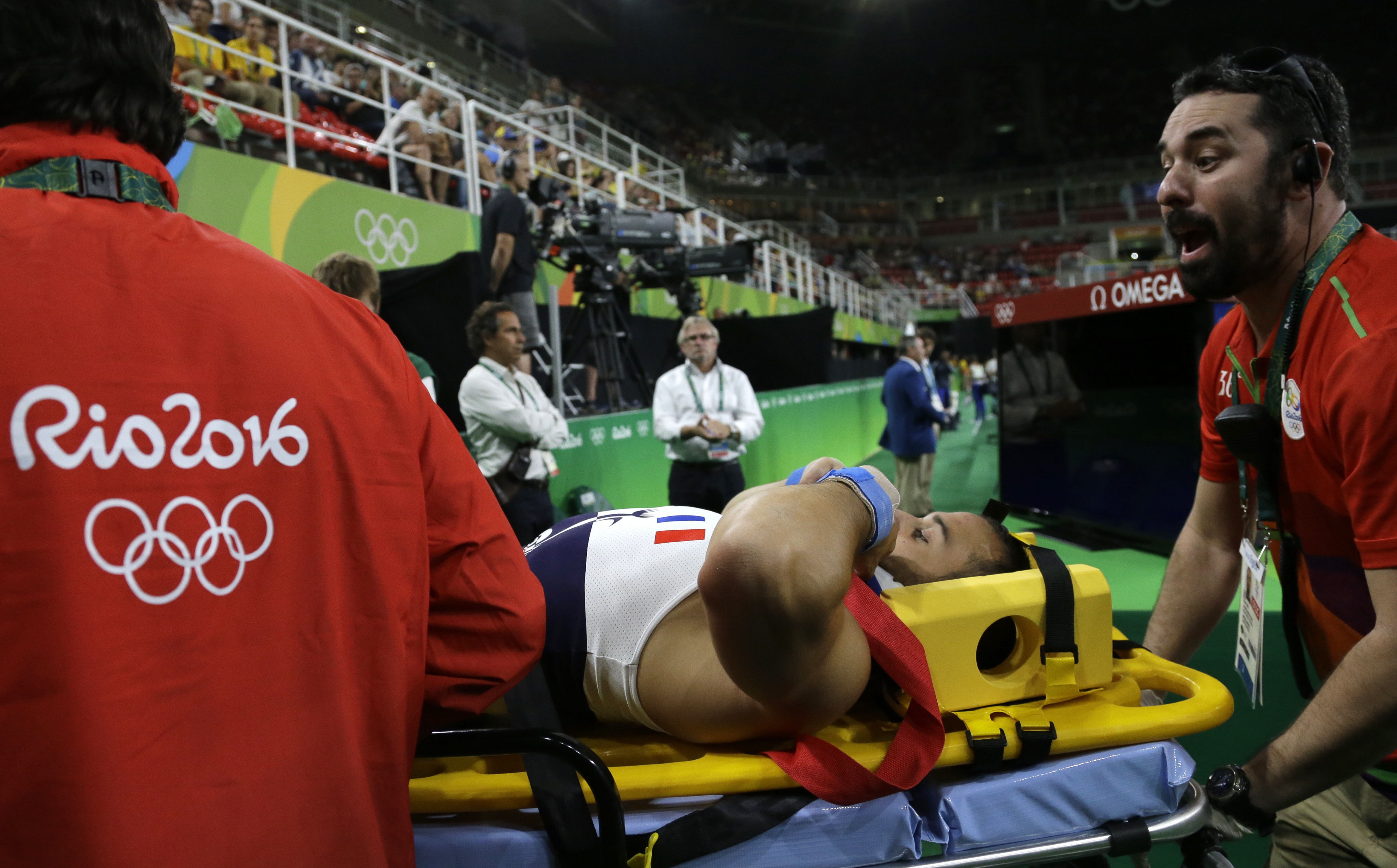 Rio 2016: Frenchman, Ait Said suffers horror break in qualifying