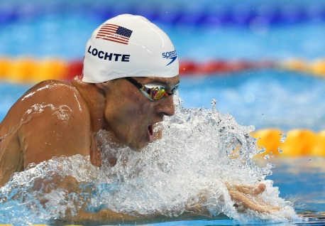 United States' Ryan Lochte competes in a men's 200-meter individual medley heat during the swimming competitions at the 2016 Summer Olympics, Wednesday, Aug. 10, 2016, in Rio de Janeiro, Brazil. (AP Photo/Martin Meissner)
