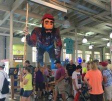Paul Bunyan at State Fair Photo cred: Maria Herd