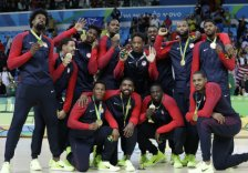 mens basketball wins gold in Rio AP DO NOT REUSE