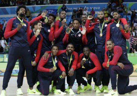 mens basketball wins gold in Rio AP DO NOT REUSE