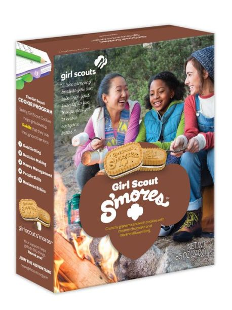 Girl Scout S'more box