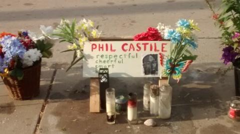 Philando memorial