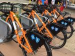 Rochester orange bikes