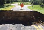 Culvert road destroyed wisconsin