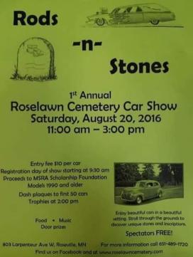 Cemetery car show